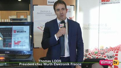Thomas Loos, Président chez Wurth Elektronik France à la JRE de Lyon (   )
